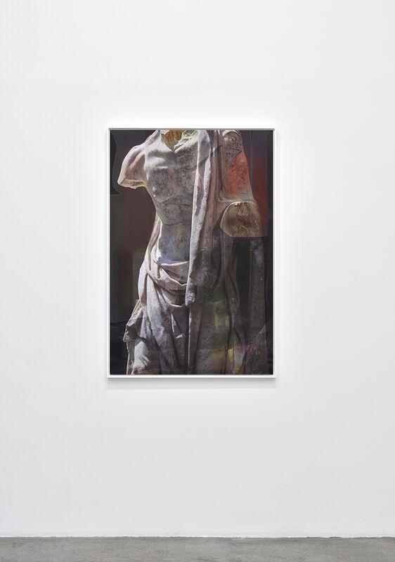 James Welling, 'Old Fisherman', 2018, Photography, UV print on Dibond, Marian Goodman Gallery