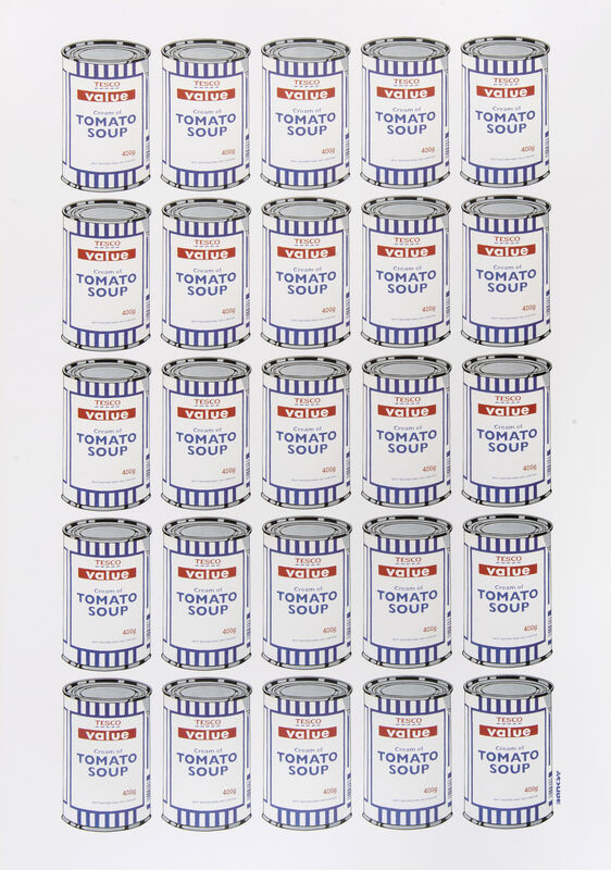 Banksy, 'Soup Cans Poster', 2010, Posters, Offset lithograph in colours on paper, Tate Ward Auctions