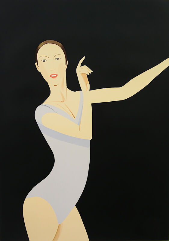 Alex Katz, 'Sarah', 2011, Print, Silkscreen in 37 colors printed on Revere Suede paper, The Watermill Center Benefit Auction