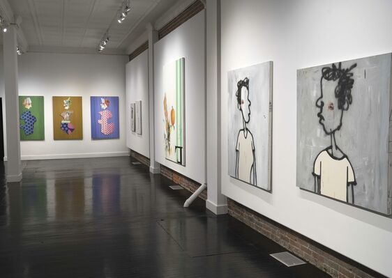Ed Valentine, gatherEd, installation view