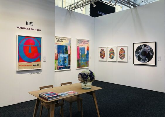 Manifold Editions at Art on Paper 2020, installation view