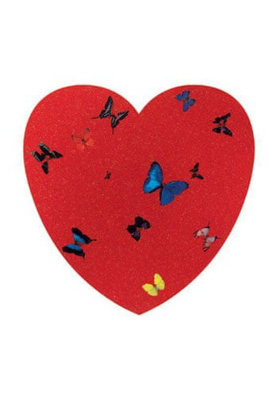 Damien Hirst, 'Ace of Hearts', 2009, Print, Offset lithograph, Upsilon Gallery