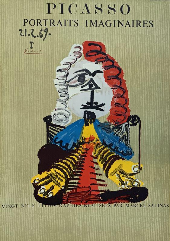 Pablo Picasso, 'Portrait Imaginaire 21.2.69 I', 1970, Print, Lithographic poster, Juffermans Fine Art
