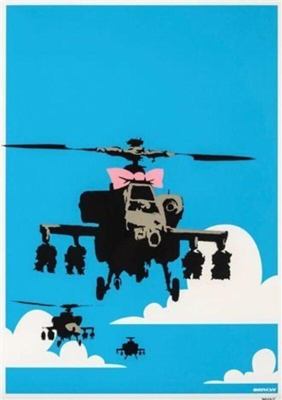 Banksy, 'Happy Choppers', 2003, Print, Screenprint on paper., Neon Gallery