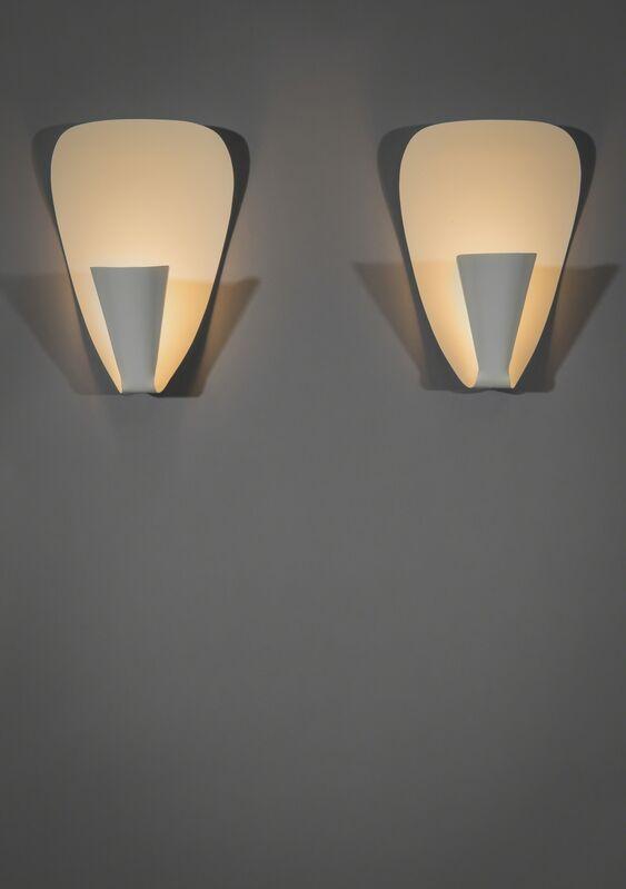 Michel Buffet, 'Pair of sconces B206', 1950, Design/Decorative Art, Lacquered metal, Galerie Pascal Cuisinier