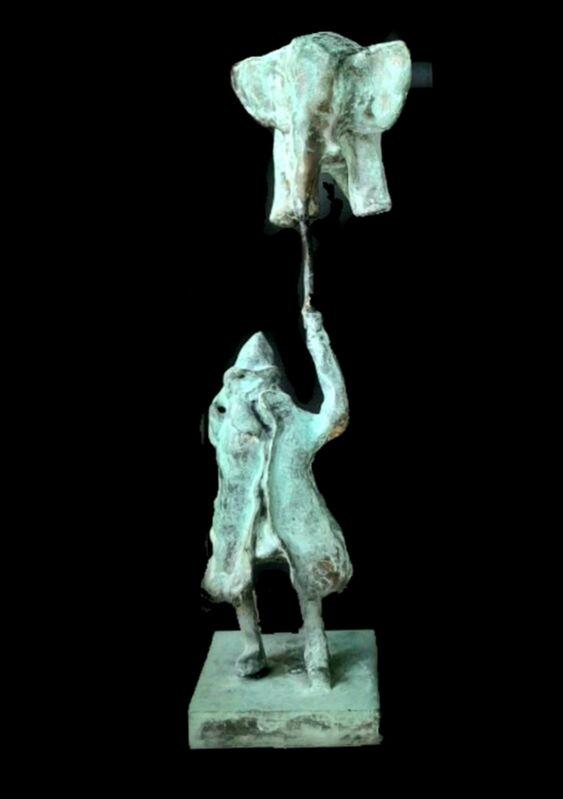 Aziz Anzabi, 'Human in Auction IV', 2020, Sculpture, Bronze, promoart21