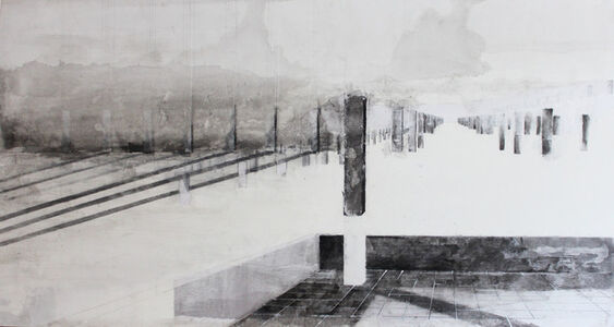 """Saba Innab, 'From the series """"On Landscapes of Temporariness""""', 2015"""