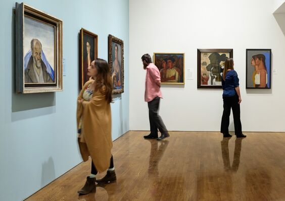 Paint the Revolution: Mexican Modernism, 1910–1950, installation view