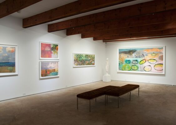 Mary Vernon: Paintings, installation view