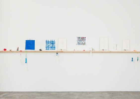 DANICA PHELPS: Many Drops Fill A Bucket, installation view