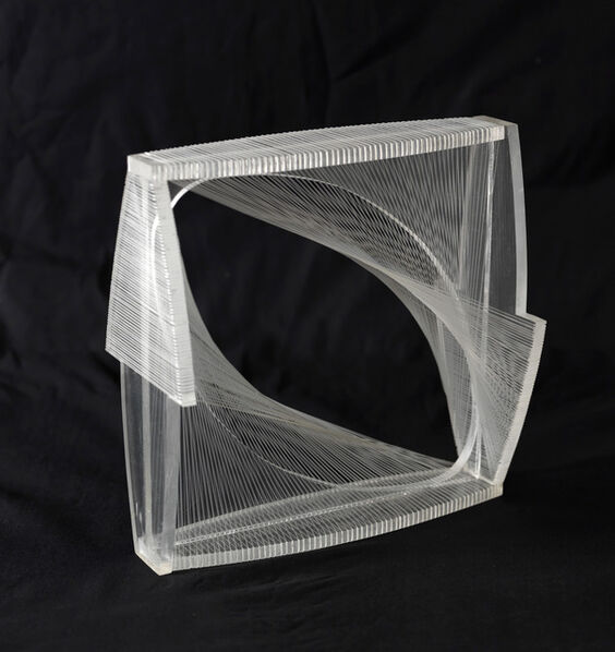 Naum Gabo, 'Linear Construction in Space No.1 (Variation)', 1976