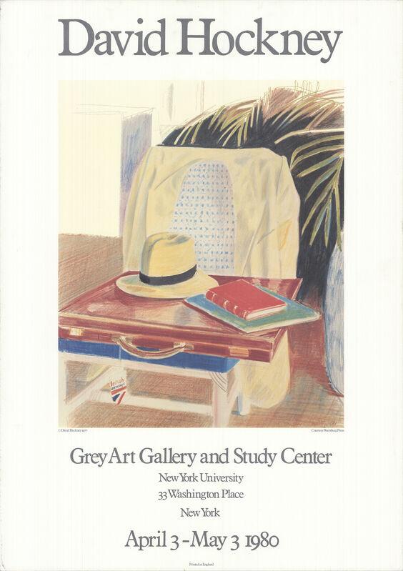 David Hockney, 'Still Life, Bombay', 1980, Ephemera or Merchandise, Offset Lithograph, ArtWise