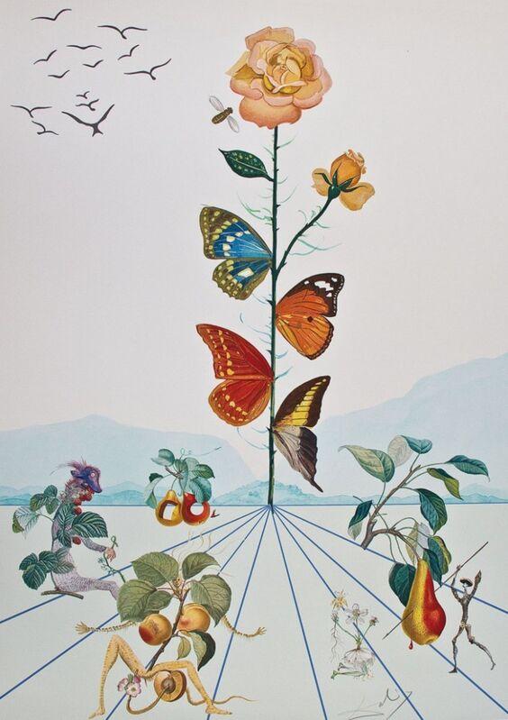 Salvador Dalí, 'Flordali II', 2018, Print, Lithographie, Bel-Air Fine Art