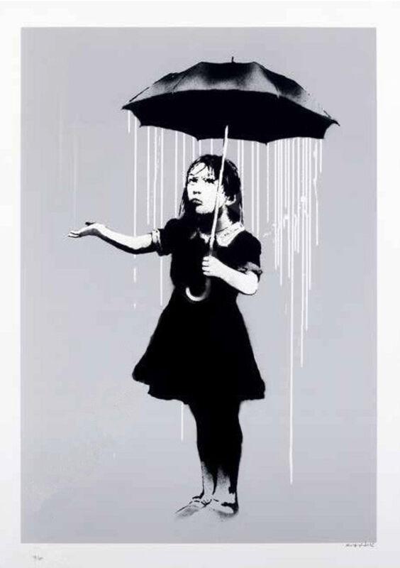 Banksy, 'Nola (White)', 2008, Print, Screenprint, The Drang Gallery