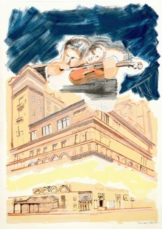 Larry Rivers, 'Sky Music Over Carnegie Hall', 1990, Print, Screenprint, michael lisi / contemporary art