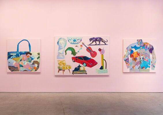 Andy Dixon: Look at This Stuff Isn't It Neat, installation view