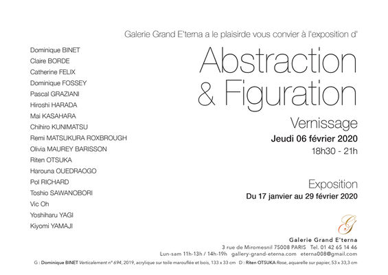Abstraction & Figuration, installation view