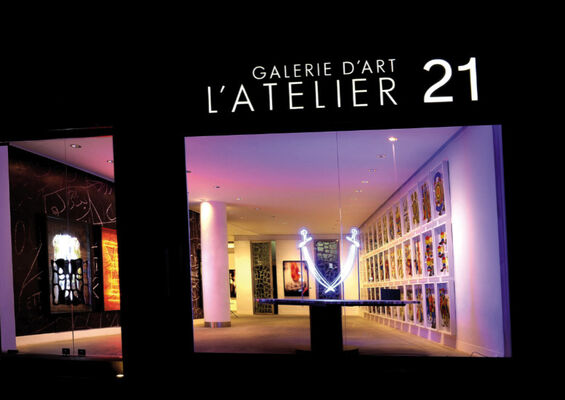 L'Atelier 21 at 1:54 Contemporary African Art Fair London 2016, installation view