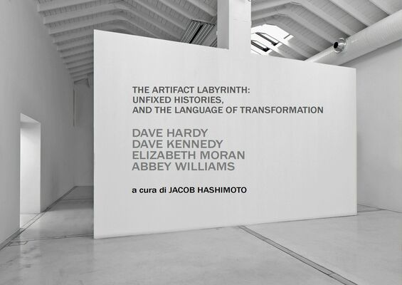 The artifact labyrinth: unfixed histories and the language of transformation, installation view