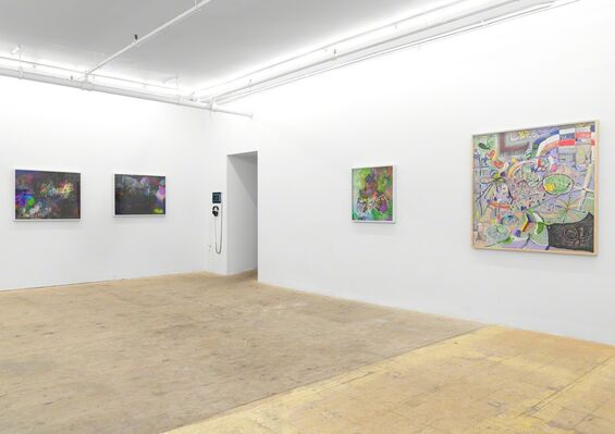 Radical Digital Painting, installation view