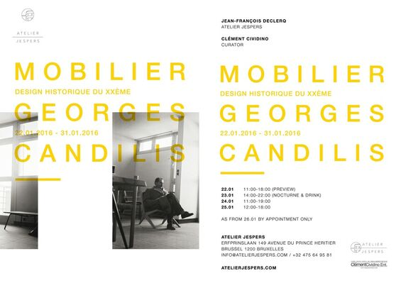 Georges Candilis - Brussels, installation view