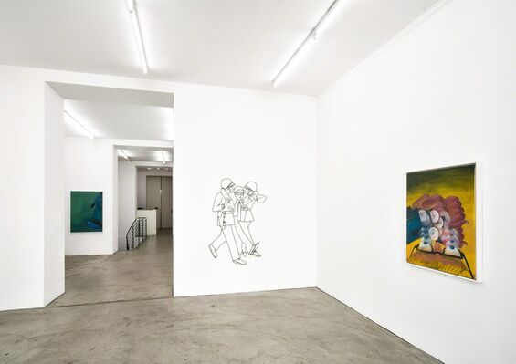 Relativity Express, installation view