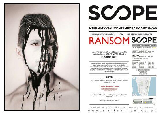 Ransom at SCOPE Miami Beach 2016, installation view