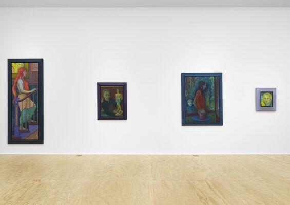 Steven Shearer: The Late Follower, installation view