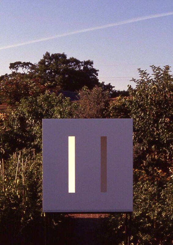 Adam Barker-Mill, 'Large 2-Slot', 1997, Installation, 30 mm MDF painted matt white, Bartha Contemporary