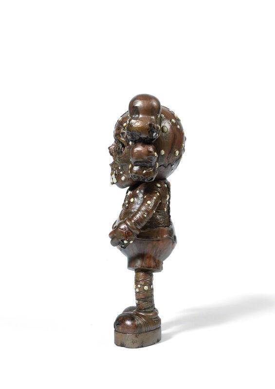 KAWS, 'PUSHEAD COMPANION (Bronze)', 2005, Sculpture, Painted cast vinyl, DIGARD AUCTION