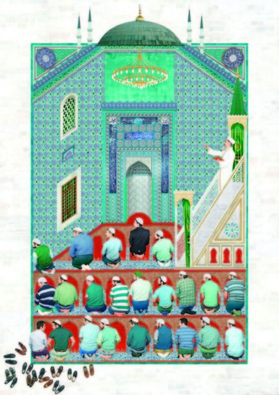 Sinan Tuncay, 'Prayer', 2015, Print, Archival pigment print, C.A.M Galeri