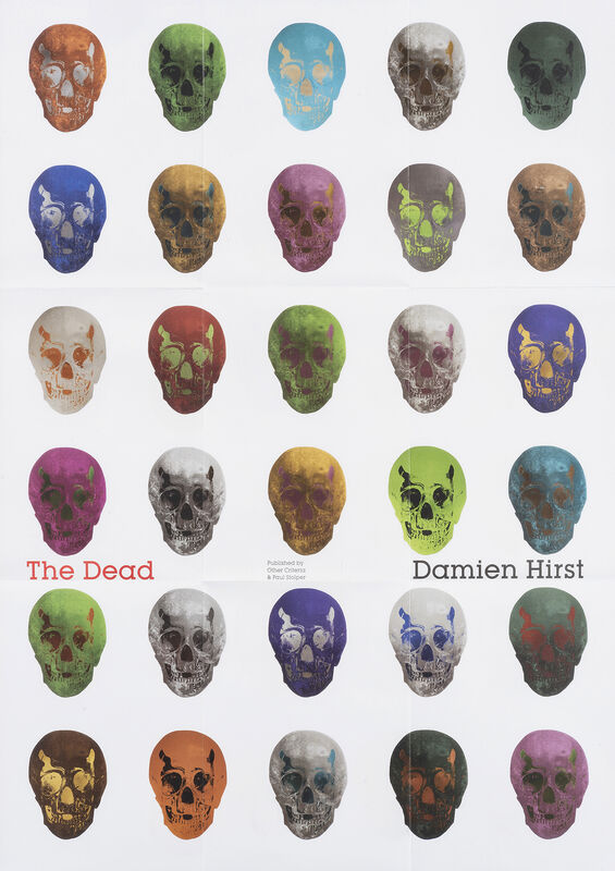 Damien Hirst, 'The Dead', 2009, Print, Offset lithograph in colours on paper, Tate Ward Auctions