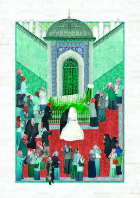 Sinan Tuncay, 'Votive', 2015, Print, Archival pigment print, C.A.M Galeri