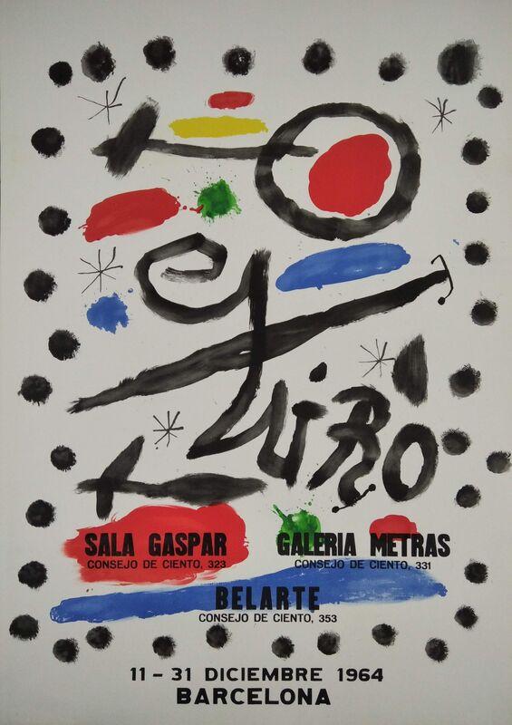 Joan Miró, 'Lithographic poster', 1964, Ephemera or Merchandise, Paper, promoart21