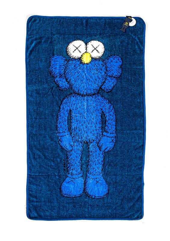 KAWS, 'BFF BEACH TOWEL', 2016, Textile Arts, Silkscreen on 100% cotton beach towel, DIGARD AUCTION