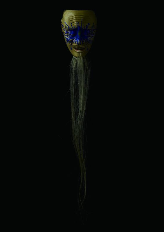 Kenichi Asano, 'Avatar 26', 2015, Sculpture, Japanese cypress, Japanese lacquer (urushi), Japanese natural pigments, horse hair, Micheko Galerie