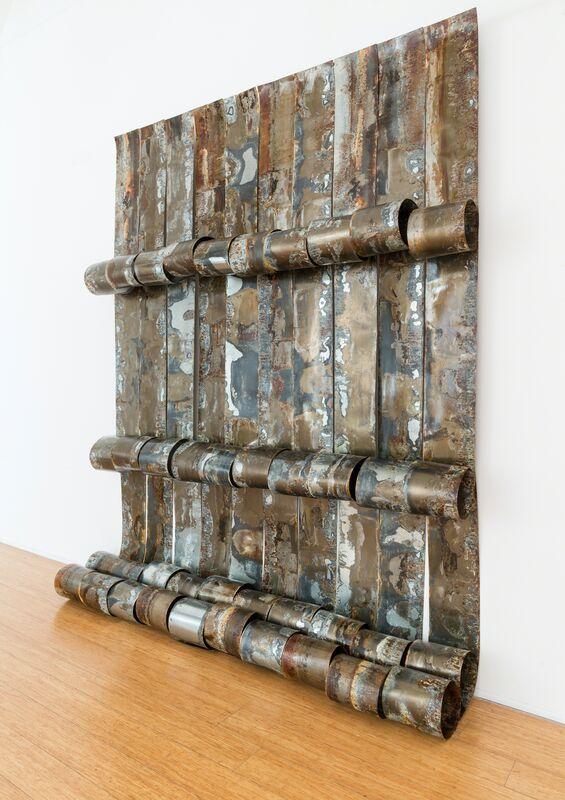 Naomi Wanjiku Gakunga, 'Kukumbuka - To Remember', 2013-2016, Sculpture, Sheet metal and stainless steel wire, October Gallery