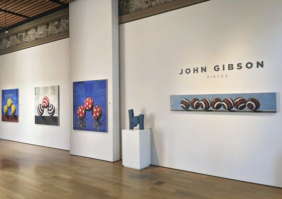 John Gibson, Pieces, installation view