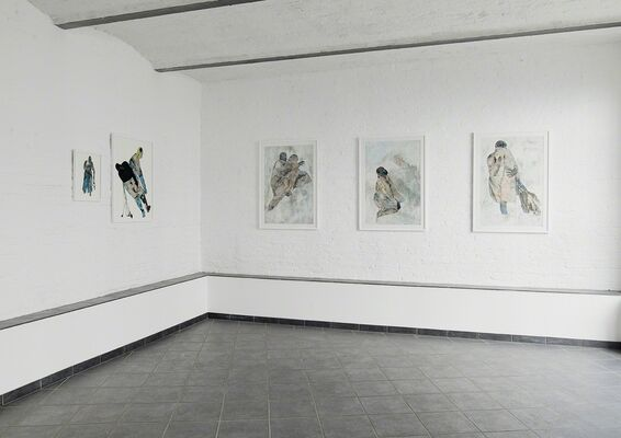 Gates of Horns and Ivory, installation view