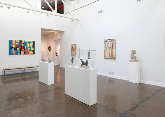 A JOURNEY THROUGH ART: KEGHAM TAZIAN, installation view