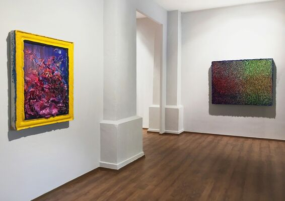 Zhuang Hong Yi: Flower Fields and Landscapes, installation view