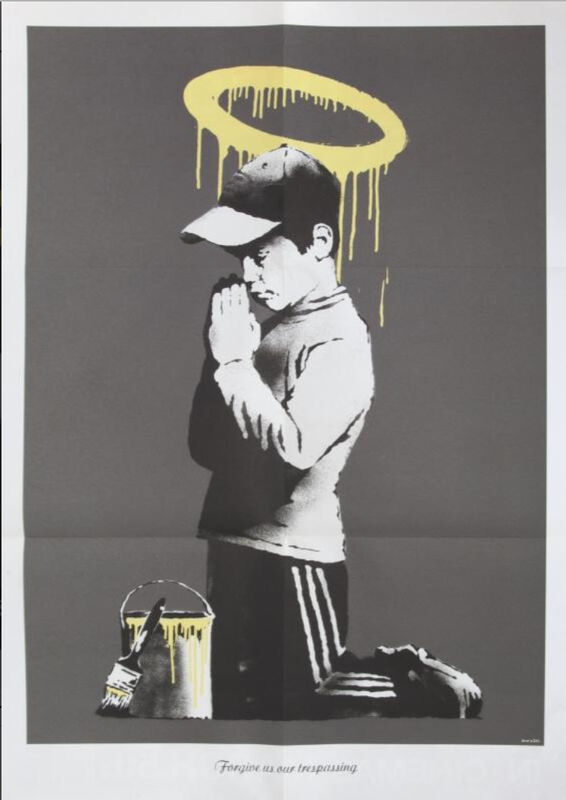 Banksy, 'Forgive Us Our Trespassing', 2010, Ephemera or Merchandise, Offset lithograph on paper, Galerie C.O.A