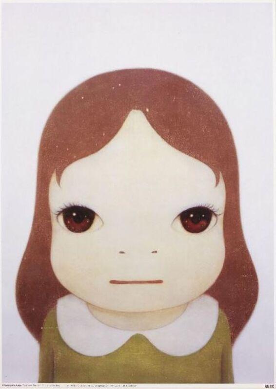 Yoshitomo Nara, 'Cosmic Girl: Eyes Open', 2008, Print, Offset lithograph in colours on smooth wove, Lougher Contemporary