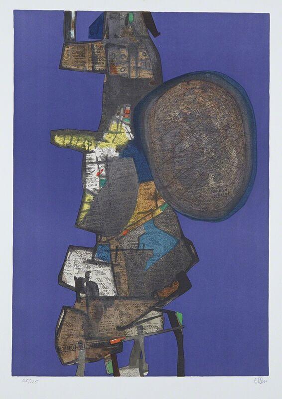 Maurice Estève, ' Bank Street', 1967, Print, Lithography, Le Coin des Arts