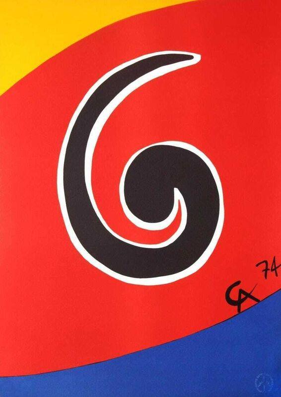 Alexander Calder, 'Sky Swirl', 1974, Print, Original Lithograph on Arches wove paper, Ransom Art