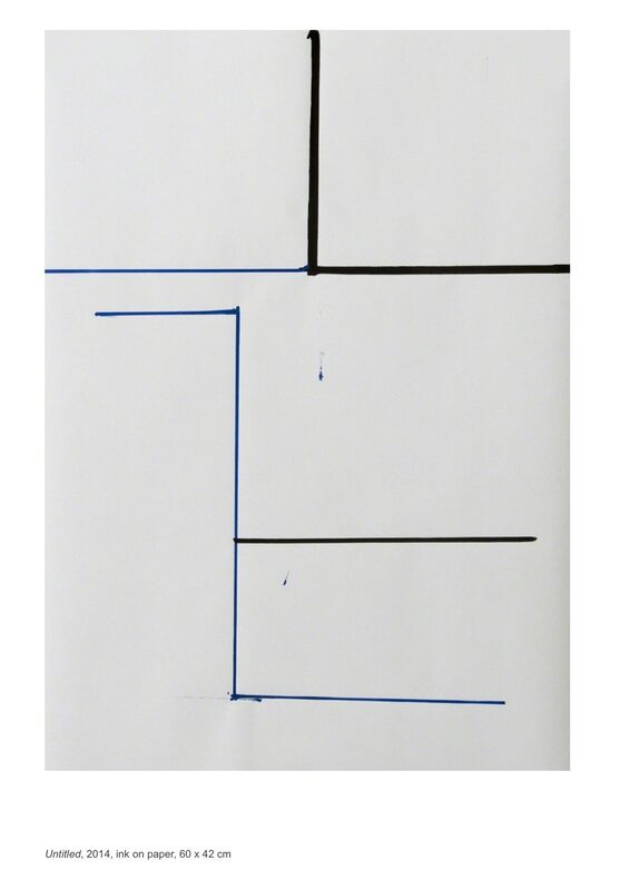 Jesus Alberto Benitez, 'Untitled', 2014, Drawing, Collage or other Work on Paper, Ink on paper, annex14