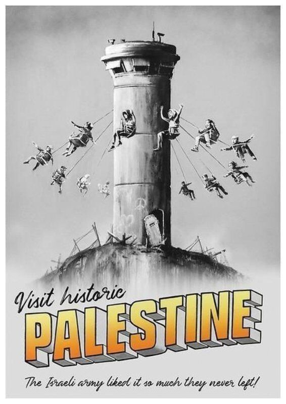 Banksy, 'Visit Historic Palestine', 2019, Posters, Offset print, Lougher Contemporary Gallery Auction