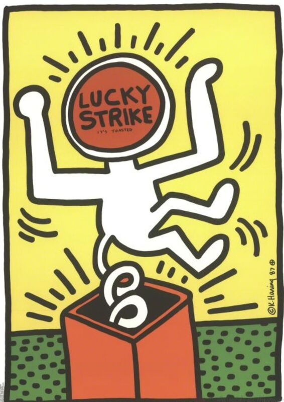 Keith Haring, 'Lucky Strike', 1987, Posters, Poster, Remes Advisory