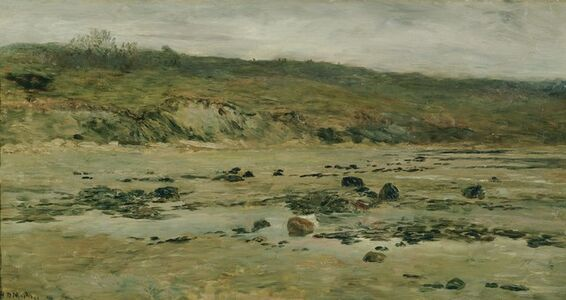 Homer Dodge Martin, 'Normandy Shore', 1884