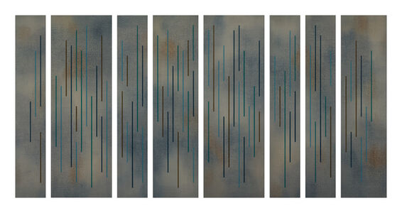 Tung Lung Wu, 'Color Lines-12', 2012